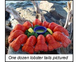 Whole Cooked Lobster Tails