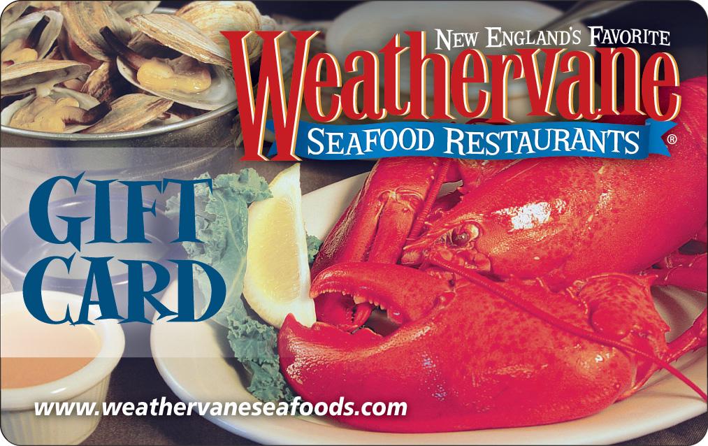 Gift Cards Weathervane Seafood Restaurants