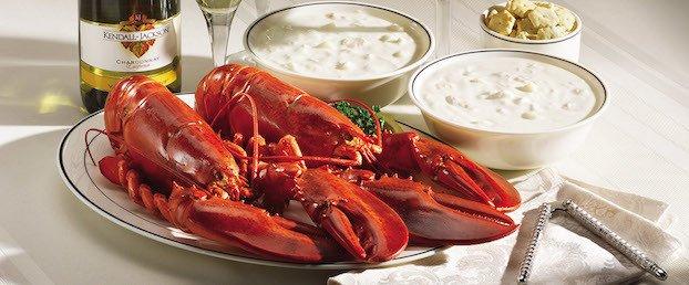 twin lobsters