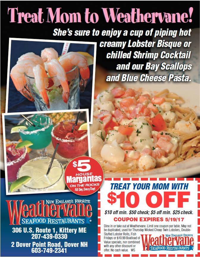 Mothersdayweathervane Weathervane Seafood Restaurants
