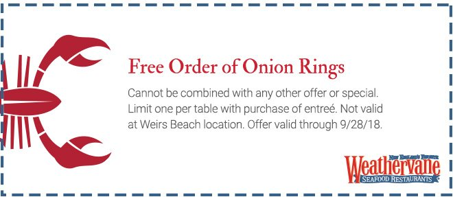 onion ring coupon